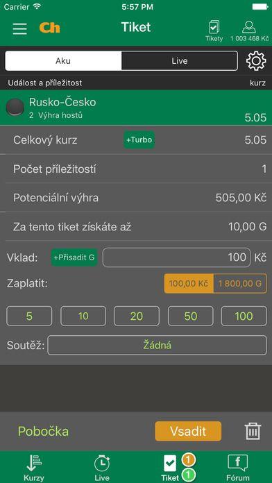 Chance.cz smartfónu