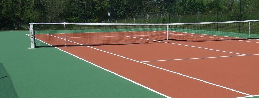 sazeni tenis Herní plocha