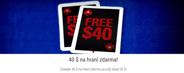bonusových nabídek Betstars a Pokerstars