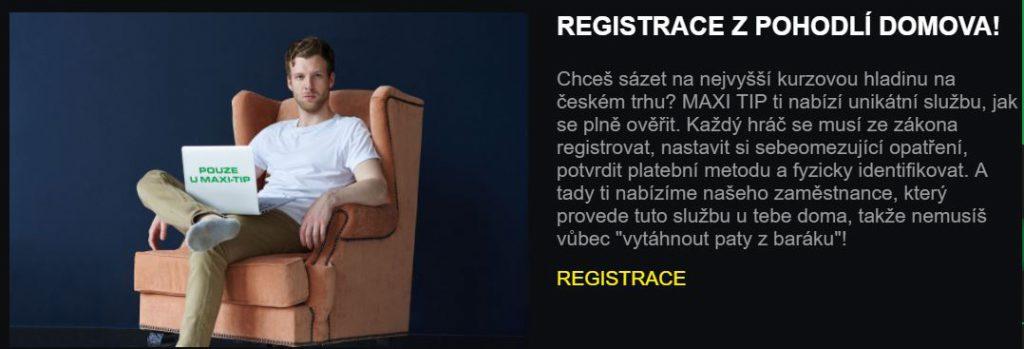 Maxi Tipu registrace