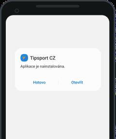 Tipsport mobilní aplikace - krok 5