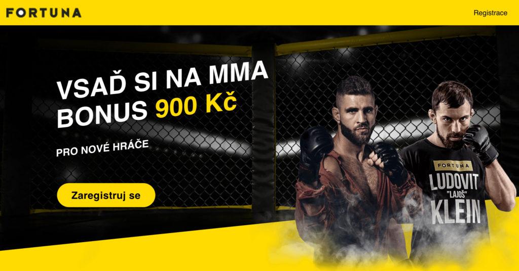 Fortuna bonus MMA