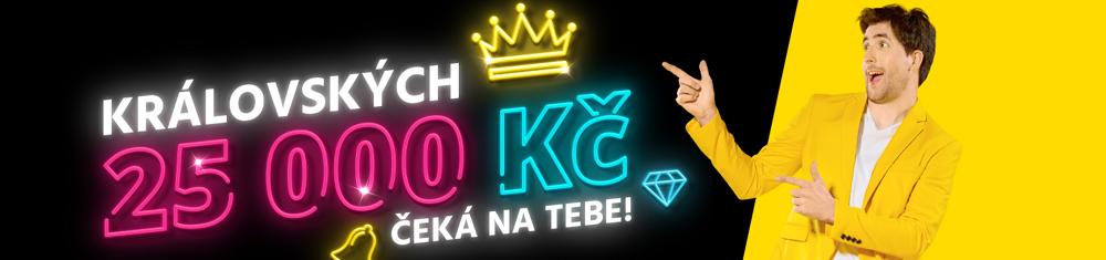 Fortuna casino bonus 25 000 Kč