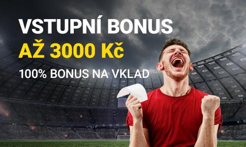 Fortuna registrace bonus